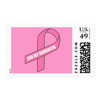 For My Daughter (Pink Ribbon) Stamp