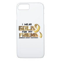 For My Friend Childhood Cancer Awareness iPhone 8/7 Case