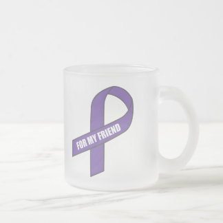For My Friend (Purple Ribbon) Mug