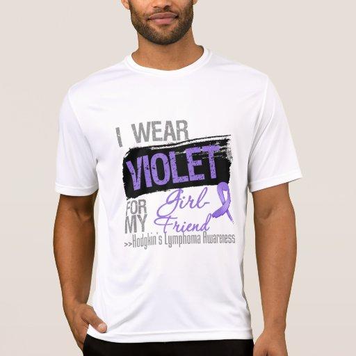 For My Girlfriend - Hodgkins Lymphoma Ribbon T-shirts