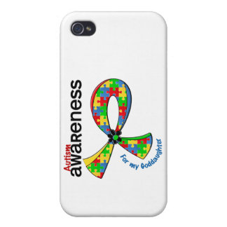 For My Goddaughter Autism iPhone 4 Covers