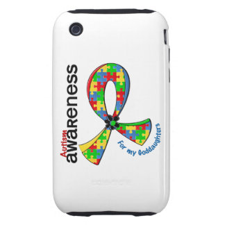 For My Goddaughters Autism iPhone 3 Tough Case