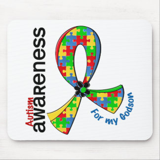 For My Godson Autism Mouse Pad