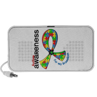 For My Grandkids Autism Mp3 Speakers