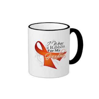 For My Grandma - Leukemia Ribbon Coffee Mugs