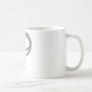 For My Grandpa Gray Silver Awareness Ribbon Coffee Mug