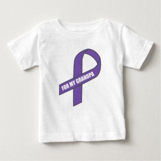 For My Grandpa (Purple Ribbon) Baby T-Shirt