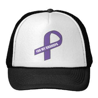 For My Grandpa (Purple Ribbon) Trucker Hat