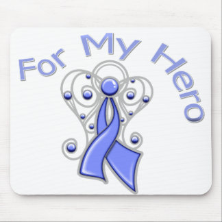 For My Hero Angel Ribbon Esophageal Cancer Mouse Pad