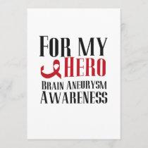 For My Hero Brain Aneurysm Awareness Gift
