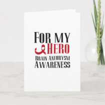 For my Hero Brain Aneurysm Awareness Gift Card