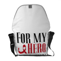 For My Hero Brain Aneurysm Awareness Gift Courier Bag