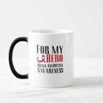 For my Hero Brain Aneurysm Awareness Gift Magic Mug