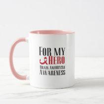 For my Hero Brain Aneurysm Awareness Gift Mug