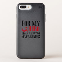 For My Hero Brain Aneurysm Awareness Gift Speck iPhone Case