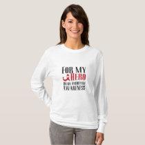 For my Hero Brain Aneurysm Awareness Gift T-Shirt