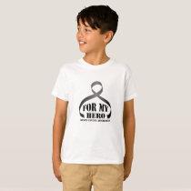 For My Hero Brain Cancer Awareness Gift T-Shirt