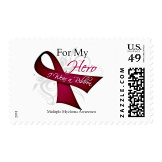For My Hero I Wear a Ribbon Multiple Myeloma Stamps