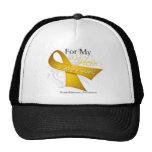 For My Hero I Wear a Ribbon Neuroblastoma Trucker Hats