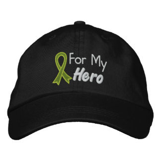 For My Hero - Lymphoma Embroidered Hat
