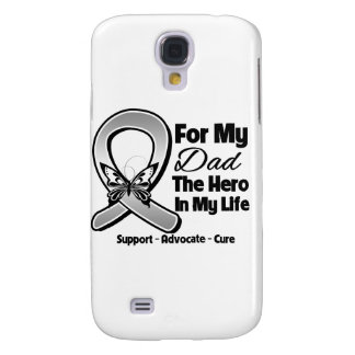 For My Hero My Dad - Brain Cancer Samsung Galaxy S4 Cover