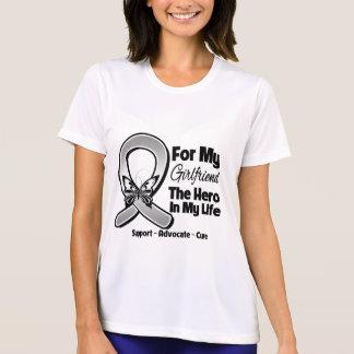 For My Hero My Girlfriend - Brain Cancer Tee Shirt