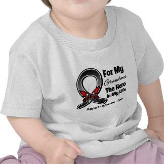 For My Hero My Grandma - Melanoma Skin Cancer Shirt