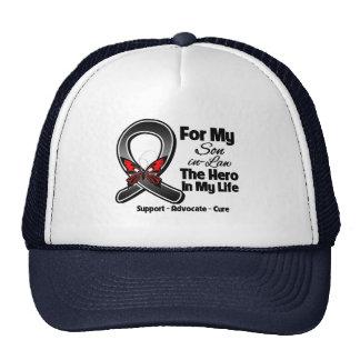 For My Hero My Son-in-Law - Melanoma Skin Cancer Trucker Hat
