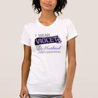 For My Husband - Hodgkins Lymphoma Ribbon T-shirt