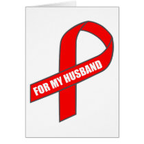 For My Husband (Red Ribbon) Card