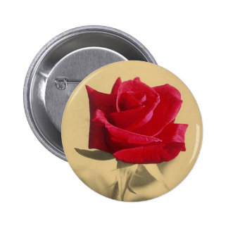 For My Love: Vintage Valentine Button