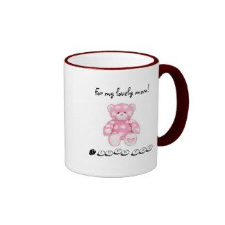 For my lovely mom! ringer coffee mug
