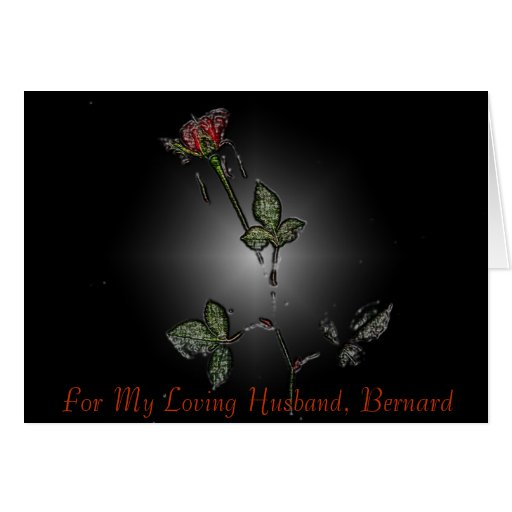 For My Loving Husband, Cards