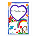 For my Mom - Art by Kids  Customize Post Cards