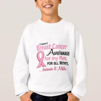 For My Mom Breast Cancer Awareness Sweatshirt