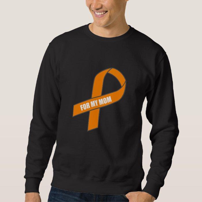 For My Mom (Orange Ribbon) Sweatshirt