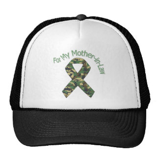 For My Mother-in-Law Military Ribbon Hats