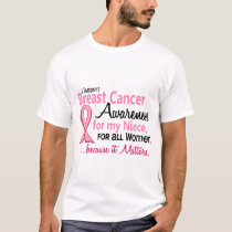 For My Niece Breast Cancer Awareness T-Shirt