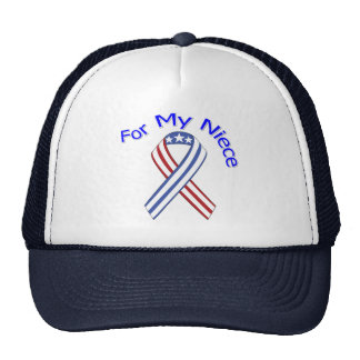 For My Niece Military Patriotic Hat