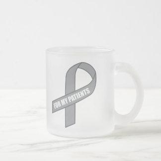 For My Patients (Gray / Silver Awareness Ribbon) Mug