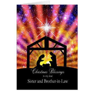 For my sister and brother-in-law, sunset Christmas Card