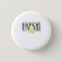 For My Sister childhood cancer awareness Fighting Button