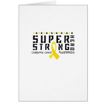 For My Sister childhood cancer awareness Fighting Card