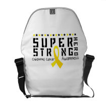 For My Sister childhood cancer awareness Fighting Courier Bag