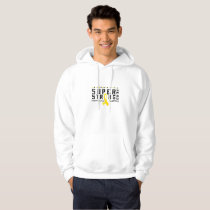For My Sister childhood cancer awareness Fighting Hoodie