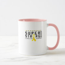 For My Sister childhood cancer awareness Fighting Mug