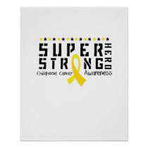 For My Sister childhood cancer awareness Fighting Poster