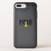 For My Sister childhood cancer awareness Fighting Speck iPhone Case