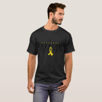 For My Sister childhood cancer awareness Fighting T-Shirt