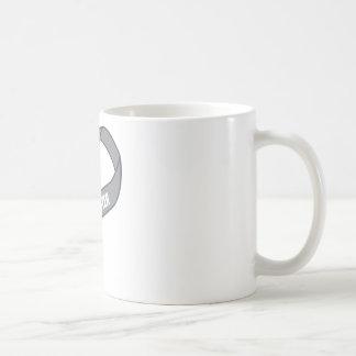 For My Sister Gray Silver Awareness Ribbon Coffee Mug
